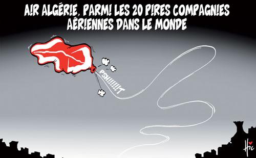 Air Algérie parmi les 20 pires compagnies aériennes dans le monde - Dessins et Caricatures, Le Hic - El Watan - Gagdz.com