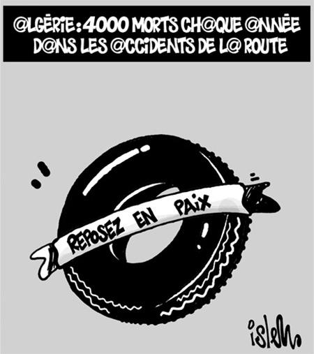 Algérie: 4000 morts chaque année dans les accidents de la route