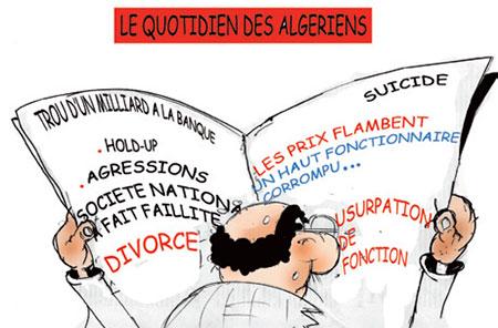 Le quotidien des algériens