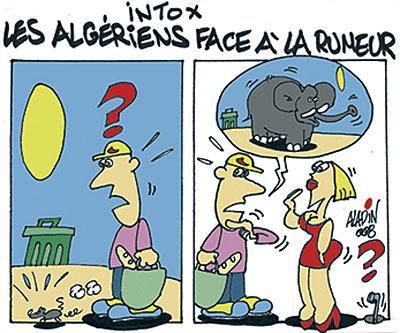 Intox: Les algériens face à la rumeur
