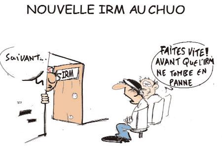 Nouvelle irm au chuo - Dessins et Caricatures, Jony-Mar - La voix de l'Oranie - Gagdz.com