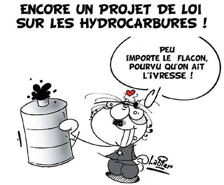 Encore un projet de loi sur les hydrocarbures - Dessins et Caricatures, Vitamine - Le Soir d'Algérie - Gagdz.com