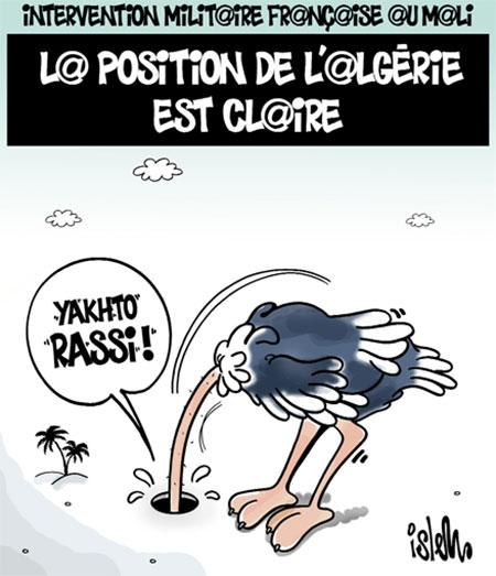 Intervention militaire française au Mali: La position de l'Algérie est claire