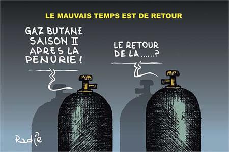 Le mauvais temps est de retour - Dessins et Caricatures, Ghir Hak - Les Débats - Gagdz.com