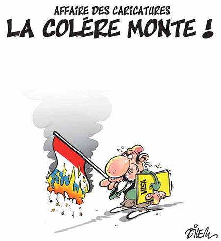 Affaire des caricatures: La colère monte