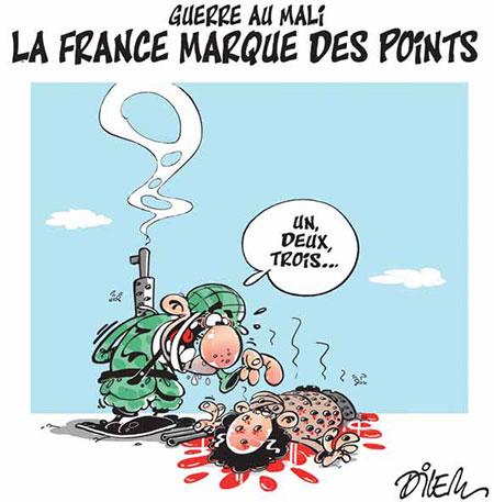 Guerre au Mali: La France marque des points