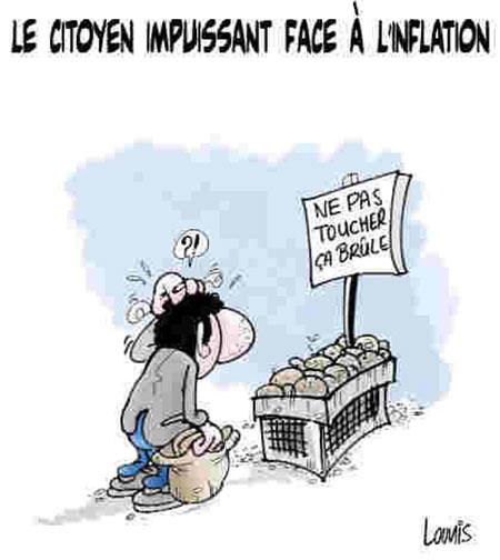 Le citoyen impuissant face à l'inflation