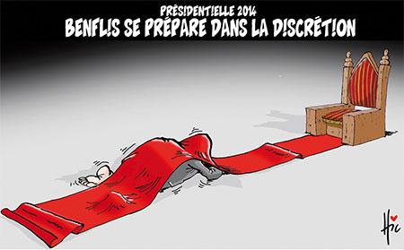 Présidentielle 2014: Benflis se prépare dans la discrétion - Dessins et Caricatures, Le Hic - El Watan - Gagdz.com
