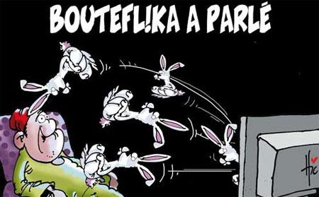 Bouteflika a parlé