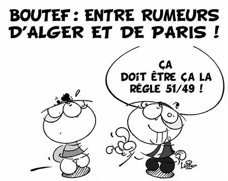 Boutef: Entre rumeurs d'Alger et de Paris - Dessins et Caricatures, Vitamine - Le Soir d'Algérie - Gagdz.com