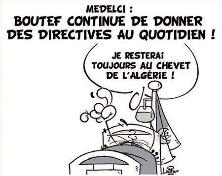 Medelci: Boutef continue de donner des directives au quotidien - Dessins et Caricatures, Vitamine - Le Soir d'Algérie - Gagdz.com