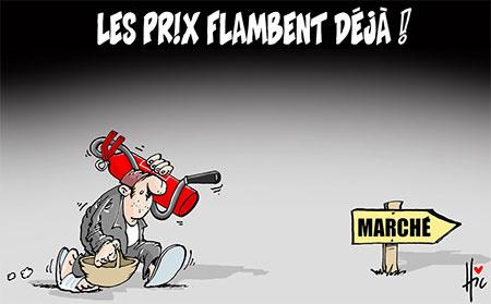Les prix flambent déjà - Dessins et Caricatures, Le Hic - El Watan - Gagdz.com