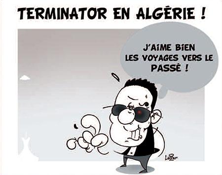 Terminator en Algérie - Dessins et Caricatures, Vitamine - Le Soir d'Algérie - Gagdz.com