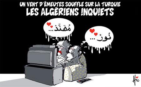 Un vent d'émeutes souffle sur la Turquie: Les Algériens inquiets