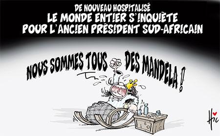Le monde entier s'inquiète pour l'ancien président sud-africain