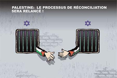 Palestine: Le processus de réconciliation sera lancé - Dessins et Caricatures, Ghir Hak - Les Débats - Gagdz.com