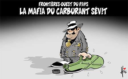 La mafia du carburant sévit - Dessins et Caricatures, Le Hic - El Watan - Gagdz.com