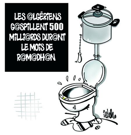 Les Algériens gaspillent 500 milliards durant le mois de ramadhan - Dessins et Caricatures, Islem - Le Temps d'Algérie - Gagdz.com