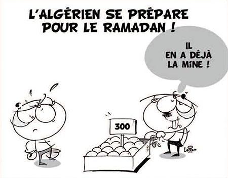 L'algérien se prépare pour le ramadan - Dessins et Caricatures - Gagdz.com