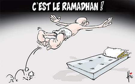 C'est le ramadhan - Dessins et Caricatures, Le Hic - El Watan - Gagdz.com
