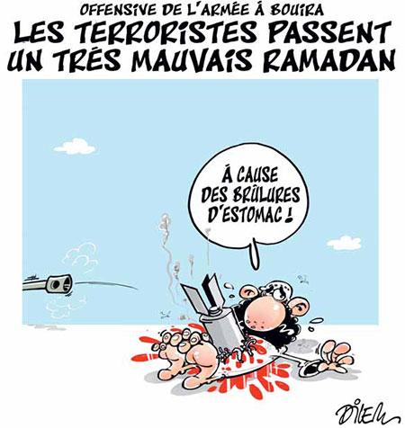 Les terroristes passent un très mauvais ramadan