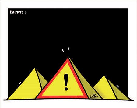 Egypte - Dessins et Caricatures, Vitamine - Le Soir d'Algérie - Gagdz.com
