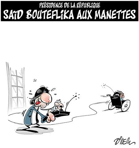 Présidence de la république: Said Bouteflika aux manettes - Dessins et Caricatures, Dilem - Liberté - Gagdz.com