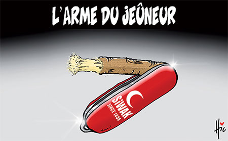 L'arme du jeûneur - Dessins et Caricatures, Le Hic - El Watan - Gagdz.com