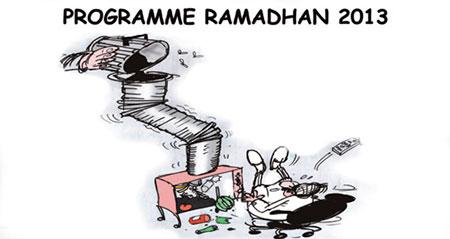 Programme ramadhan 2013 - Dessins et Caricatures, Jony-Mar - La voix de l'Oranie - Gagdz.com