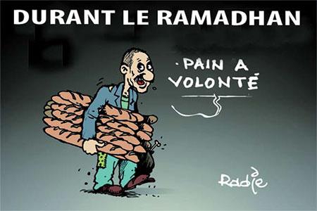Durant le ramadhan - Dessins et Caricatures, Ghir Hak - Les Débats - Gagdz.com