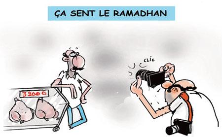 Ca sent le ramadhan - Dessins et Caricatures, Jony-Mar - La voix de l'Oranie - Gagdz.com