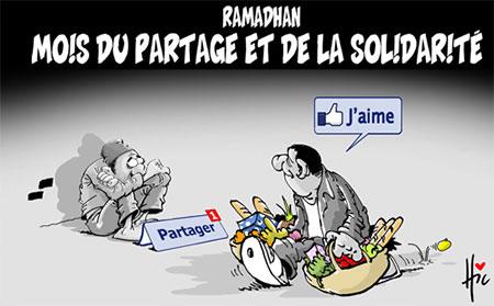 Ramadhan mois du partage et de la solidarité - Dessins et Caricatures, Le Hic - El Watan - Gagdz.com