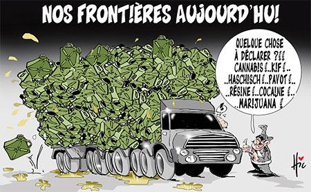Nos frontières aujourd'hui - Dessins et Caricatures, Le Hic - El Watan - Gagdz.com