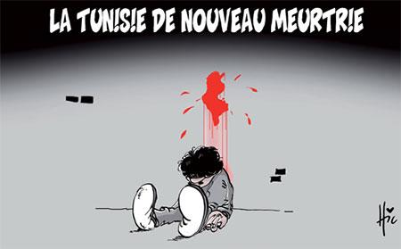 La Tunisie de nouveau meurtrie - Dessins et Caricatures, Le Hic - El Watan - Gagdz.com