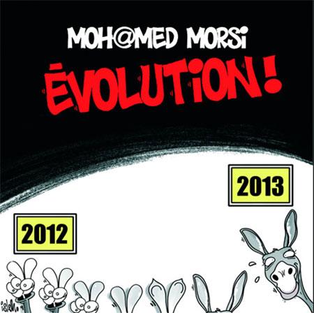 Mohamed Morsi: Evolution - Dessins et Caricatures, Islem - Le Temps d'Algérie - Gagdz.com