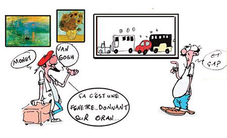 Oran et l'art - Dessins et Caricatures, Jony-Mar - La voix de l'Oranie - Gagdz.com