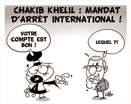 Chakib Khelil: Mandat d'arrêt international