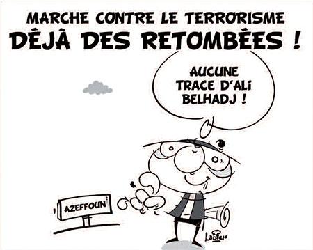 Marche contre le terrorisme: Déjà des retombées