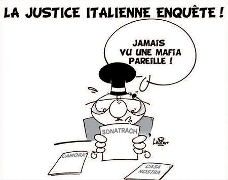 La justice italienne enquête - Dessins et Caricatures, Vitamine - Le Soir d'Algérie - Gagdz.com