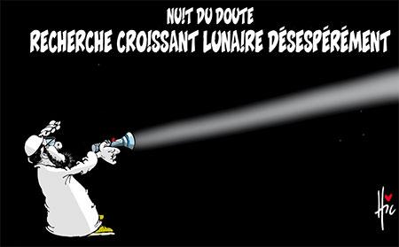 Nuit du doute - Dessins et Caricatures, Le Hic - El Watan - Gagdz.com