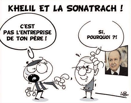 Khelil et la Sonatrach - Dessins et Caricatures, Vitamine - Le Soir d'Algérie - Gagdz.com