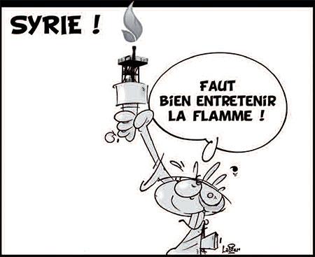 Syrie - Dessins et Caricatures, Vitamine - Le Soir d'Algérie - Gagdz.com