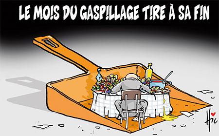 Le mois du gaspillage tire à sa fin - Dessins et Caricatures, Le Hic - El Watan - Gagdz.com
