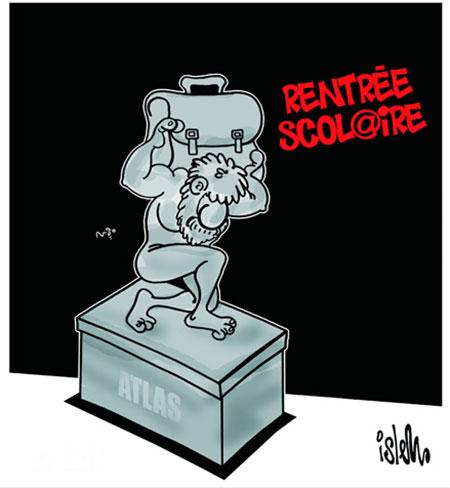 Rentrée scolaire - Dessins et Caricatures, Islem - Le Temps d'Algérie - Gagdz.com