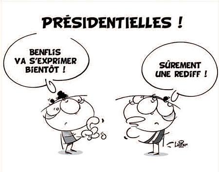 Présidentielles - Dessins et Caricatures, Vitamine - Le Soir d'Algérie - Gagdz.com