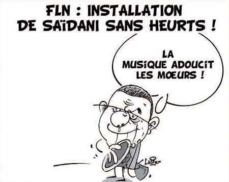 FLN: Installation de Saïdani sans heurts - Dessins et Caricatures, Vitamine - Le Soir d'Algérie - Gagdz.com
