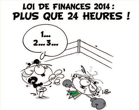 Loi de finances 2014: Plus que 24 heures - Dessins et Caricatures, Vitamine - Le Soir d'Algérie - Gagdz.com