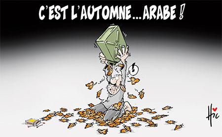 C'est l'automne arabe - Dessins et Caricatures, Le Hic - El Watan - Gagdz.com