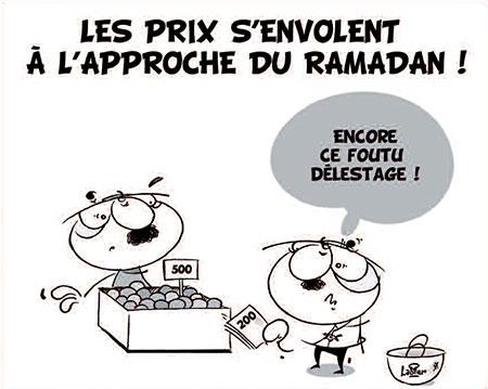 Les prix s'envolent à l'approche du ramadan - Dessins et Caricatures, Vitamine - Le Soir d'Algérie - Gagdz.com