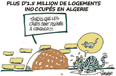 Plus d'1,5 million de logements inoccupés en Algérie - Dessins et Caricatures, Hawari - La Tribune des Lecteurs - Gagdz.com